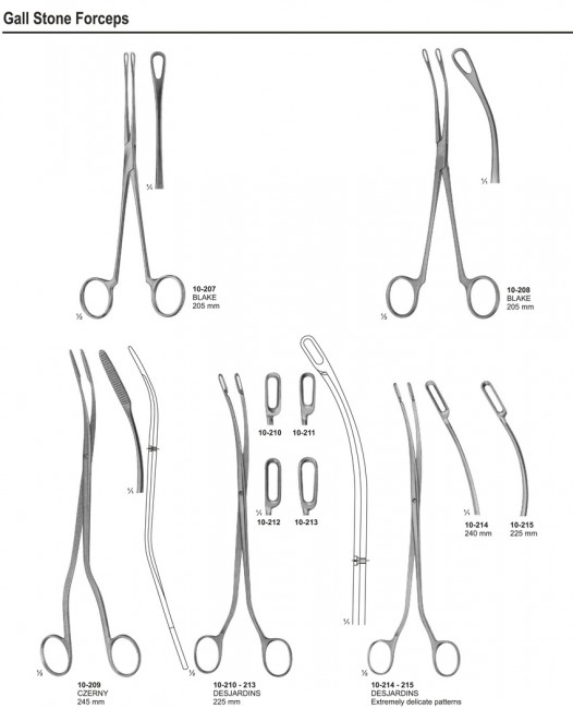 Gall Stone Forceps
