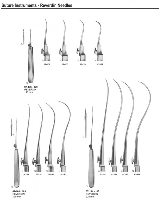 Needle Holders Suture Instruments
