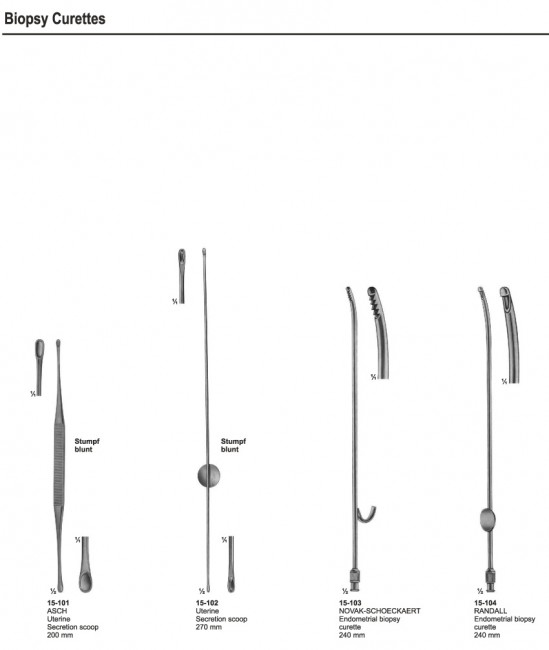 Biopsy Instruments & Curetts